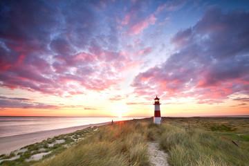 Meer, Strand, Leuchtturm