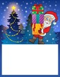 Small frame with Santa Claus 6