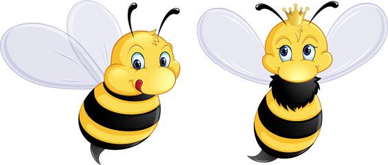 verliebtes Bienenpaar