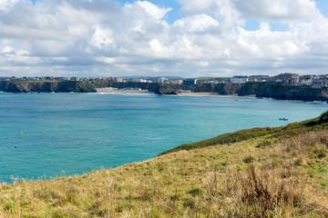 Newquay Bay Cornwall England UK