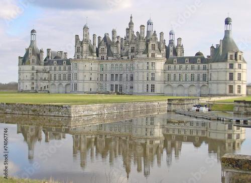 Papiers peints Chateau Château de Chambord
