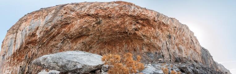Grande Grotta cave on Greek Kalymnos island