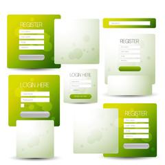 login or registration box