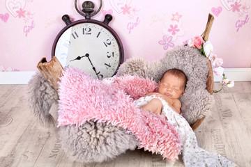 friedliches Baby