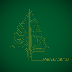 motherboard Christmas tree