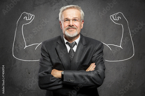 canvas print picture Strong Business