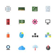 computer device hardware color icon