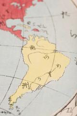 古地図(木版)