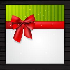 Festive card template