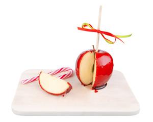 Liebesapfel mit Zuckerstange