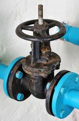Unpainted water valve