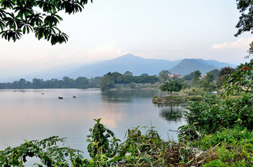 Непал, Покхара, озеро Фква (Пхева)