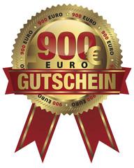900 Euro Gutschein