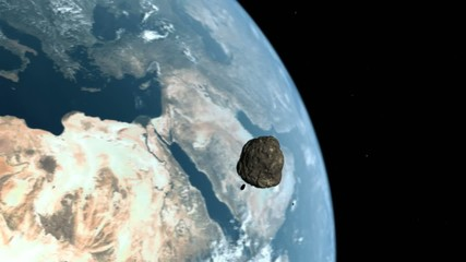 Meteor to Earth
