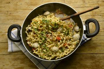 Fusilli lunghi Cucina italiana Italian cuisine Expo 2015 Pasta