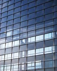 Fenêtres d'immeuble moderne