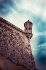 Watchtower Malta toned image