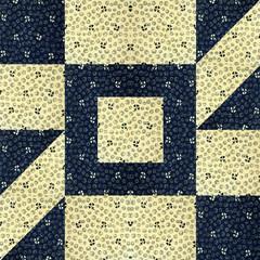 arrangement of cotton scrap to make a Quilt