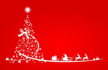 Weihnachten Sterne Baum Rentiere