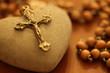 Leinwandbild Motiv Kreuz