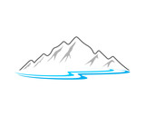 Fototapety Mountain Lake
