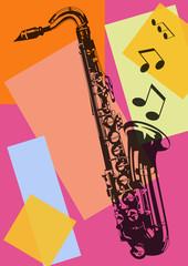 Saxophone pop