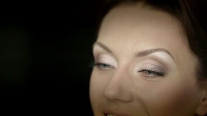 Make up a woman