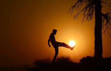 football&sunrise