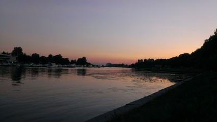 Крестовский остров!закат