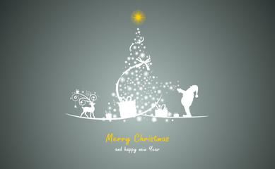 Weihnachtsbaum Sterne gold