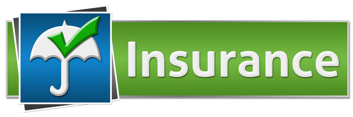 Insurance Green Blue Button Style