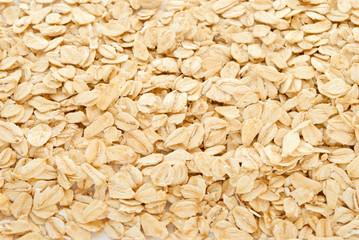 Oatmeals close up
