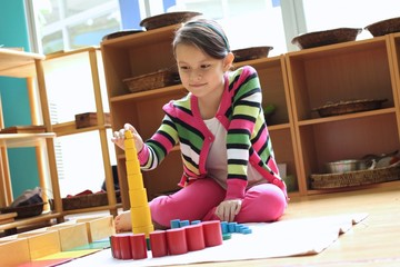 Montessori creative cylinder