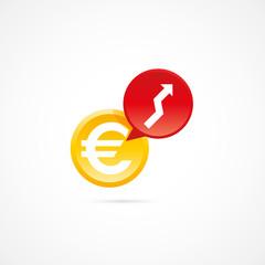 hausse des prix-euro