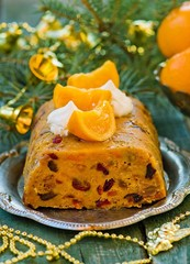 fruit Christmas pudding
