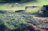 Fototapety Storm in ocean