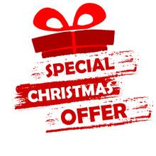 "Постер, картина, фотообои ""special christmas offer"""