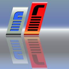 Logo e mobil r