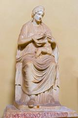 Statue of Isis in Vatican museum.