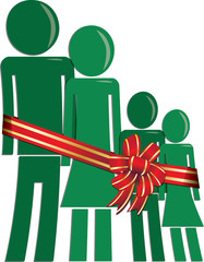 Christmas family in need