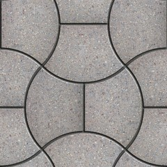 Gray Wavy Figured Pavement.