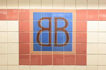 Brooklym Bridge Station Sign