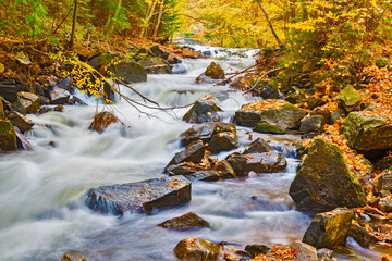 River in Algonquin Park in Ontario, Canada.