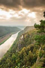 River Elbe in Saxon Switzerland