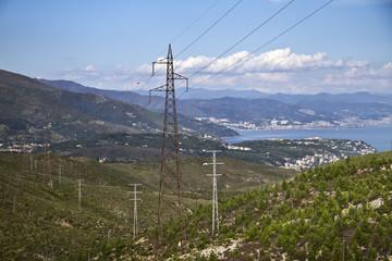 Panorama Alture Varazze