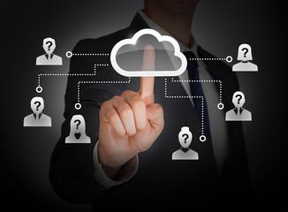 Cloud computing social network