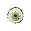 Halloween cake, zombie eyes