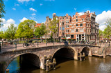 Amsterdam Leaning Buildings and Canals - 74091797