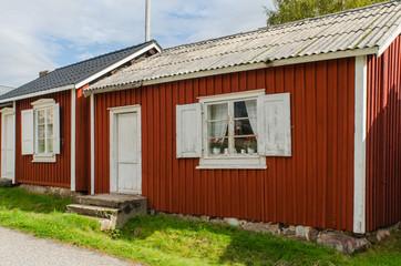 Gammelstad church town in Sweden
