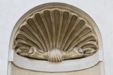 Nicchia, decorazione della calotta